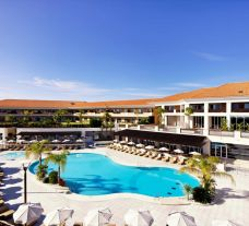 View Monte da Quinta Resort's beautiful outdoor pool within stunning Algarve.