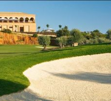 The Amendoeira O'Connor Jnr Course's scenic golf course within sensational Algarve.