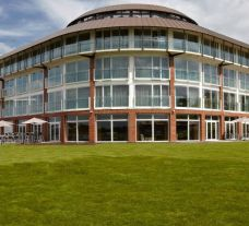 View Marriott Lingfield Park Hotel Country Club located on Lingfield Park Racecourse