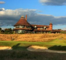 East Sussex National Golf Club 18th hole on the East Course