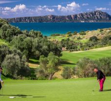 The Costa Navarino - The Bay Course's beautiful golf course situated in incredible Greece.