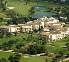 View Hotel La Manga Club Principe Felipe's picturesque hotel within amazing Costa Blanca.