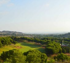 The La Manga Golf Club, West Course's scenic golf course within incredible Costa Blanca.
