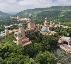 The Palace of the Lost City's scenic hotel in breathtaking South Africa.