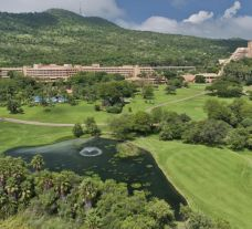 The Cascades Hotel with beautiful views over the Gary Player and Lost City Courses