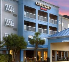 The Courtyard Myrtle Beach Broadway's picturesque entrance in sensational South Carolina.