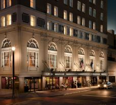 The Francis Marion Hotel's impressive hotel within impressive South Carolina.