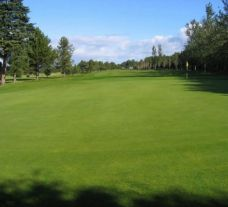 The Inverness Golf Club's lovely golf course within impressive Scotland.