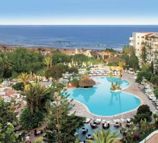 View Hotel Riu Tikida Beach's lovely ariel view in magnificent Morocco.