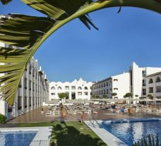The MAC Hotel Puerto Marina's lovely outdoor pool within fantastic Costa Del Sol.