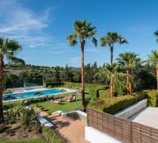 The NH Sotogrande Hotel's picturesque main pool in sensational Costa Del Sol.