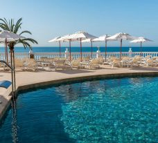 View Nixe Palace Hotel's impressive main pool in sensational Mallorca.