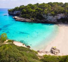 The Son Caliu Hotel  Spa Oasis's beautiful beach situated in faultless Mallorca.