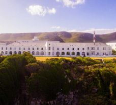 View The Marine Hermanus's picturesque hotel situated in fantastic South Africa.
