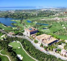 View Villa Padierna Palace Hotel's beautiful ariel view within stunning Costa Del Sol.