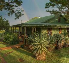 The Three Tree Hill Lodge's picturesque lodge within gorgeous South Africa.