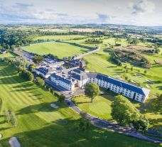 The Roe Park Resort's impressive hotel within astounding Northern Ireland.