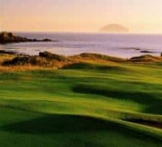 The Trump Turnberry Golf's impressive golf course situated in gorgeous Scotland.