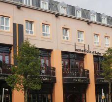 Benedicts of Belfast's beautiful hotel within dazzling Northern Ireland.