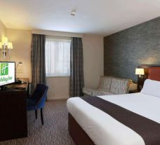The Premier Inn Belfast Central's picturesque double bedroom in sensational Northern Ireland.