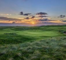 View Machrihanish Dunes's picturesque golf course in dramatic Scotland.