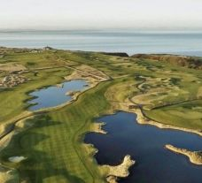 View Fairmont St Andrews's picturesque golf course in dramatic Scotland.