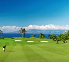 The Abama Golf's impressive golf course situated in gorgeous Tenerife.