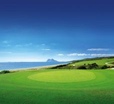 View Alcaidesa Heathland Course's impressive golf course situated in dazzling Costa Del Sol.