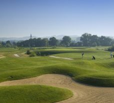 The Porsche Golf Course's scenic golf course in gorgeous Germany.