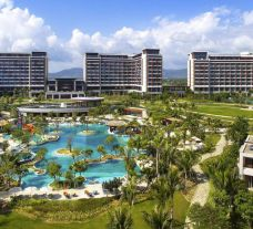 The Sofitel Sanya Leeman Resort's lovely hotel situated in staggering China.