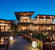 View Grand Hyatt Sanya Haitang Bay Resort and Spa's beautiful hotel within spectacular China.