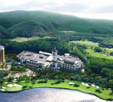 The Haikou Mission Hills Resort's picturesque hotel in sensational China.