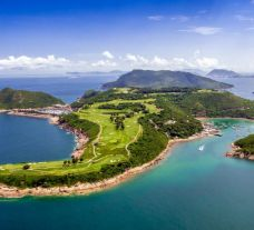 View Clearwater Bay Golf  Country Club's picturesque golf course situated in incredible China.