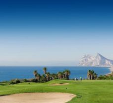 The Alcaidesa Links Course's impressive golf course within sensational Costa Del Sol.