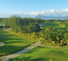 The Paradis Golf Club's picturesque golf course situated in sensational Mauritius.