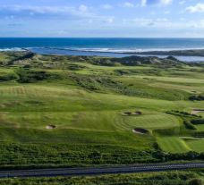 The Castlerock Golf Club's lovely golf course within staggering Northern Ireland.