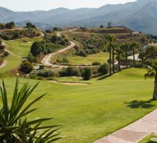 The Alhaurin Golf Course's beautiful golf course within staggering Costa Del Sol.