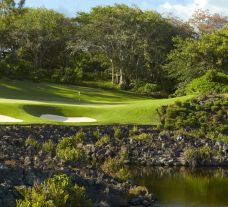 The Anahita by Ernie Els's picturesque golf course situated in sensational Mauritius.