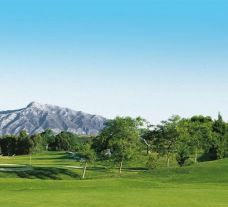 The Atalaya Old Course's picturesque golf course situated in impressive Costa Del Sol.