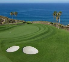 The Costa Adeje Golf Course's beautiful golf course situated in sensational Tenerife.