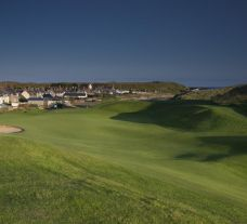 The Cruden Bay Golf Course's scenic golf course in sensational Scotland.