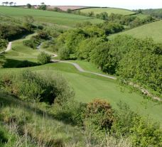 The Dartmouth Golf  Country Club's beautiful golf course within fantastic Devon.
