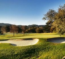 The Del Monte Golf Course's lovely golf course within stunning California.