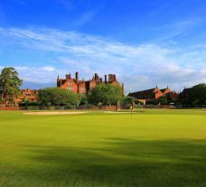 The Dunston Hall Golf's impressive golf course in brilliant Norfolk.
