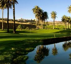 View El Cortijo Golf Club's lovely golf course in astounding Gran Canaria.