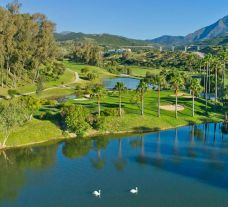 The Estepona Golf Club's scenic golf course in sensational Costa Del Sol.