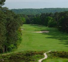 The Golf de Fontainebleau's scenic golf course in sensational Paris.