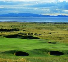 Gullane Golf Club's beautiful golf course within marvelous Scotland.