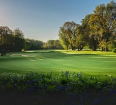 The Huntercombe Golf Club's lovely golf course in staggering Oxfordshire.