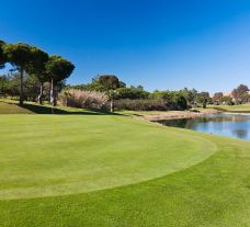 The Islantilla Golf Course's lovely golf course within brilliant Costa de la Luz.